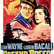 Blood Alley, John Wayne, Lauren Bacall Art Print by Everett
