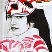Bloodmoon Akali Art Print