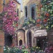 Blooming Alley Art Print