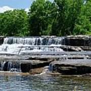 Blossom Road Waterfalls 5123 Art Print