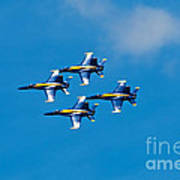 Blue Angels 4 Art Print