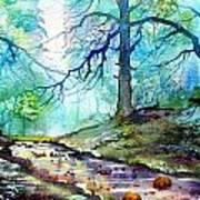Blue Beck Art Print