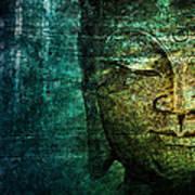 Blue Buddha Art Print