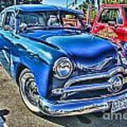 Blue Classic Hdr Art Print