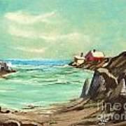 Blue Cove Serenity Art Print