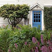Blue Door Art Print by Denice Breaux