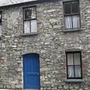 Blue Dublin Door Art Print