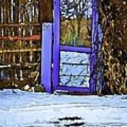 Blue Gate #24 Art Print