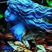 Blue Girl Art Print by Todd Sherlock