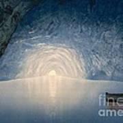 Blue Grotto Of Capri Island Art Print