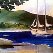 Blue Interlude Art Print by Don F  Bradford