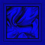 Blue Morass Art Print