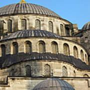 Blue Mosque Domes Art Print