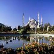 Blue Mosque, Sultanahmet, Istanbul Art Print