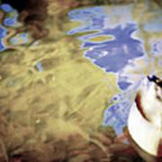 Blue Reflections Art Print