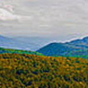 Blue Ridge Panorama Art Print