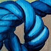 Blue Rope 2 Art Print