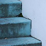 Blue Stairs Art Print