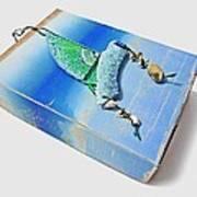 Blue Water Sailing Art Print