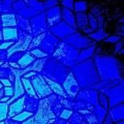 Blue Zinc Art Print