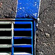 Bluer Sewer Four Art Print
