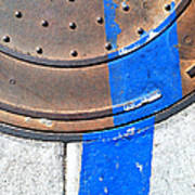Bluer Sewer One Art Print