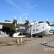 Boac British Overseas Airways Corporation Speedbird Flying Boat . 7d11249 Art Print