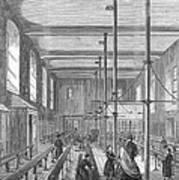 Boarding School, 1862 Art Print