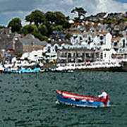 Boat At Brixham Art Print