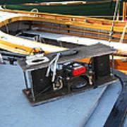 Boat Builders Music Box Art Print