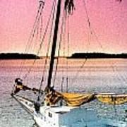 Boat Close Art Print