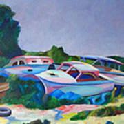 Boat Dreams Art Print
