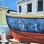 Boat Hull Art Print