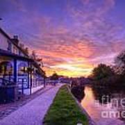 Boat Inn Sunrise 1.0 Art Print