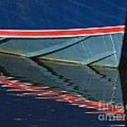 Boat Reflection 2 Art Print