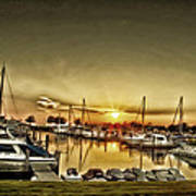 Boaters' Delight Art Print