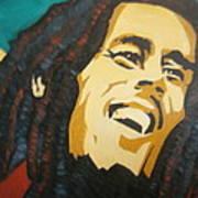 Bob Marley-amazing Story Art Print