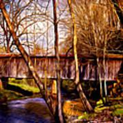 Bob White Covered Bridge Art Print