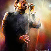 Bobby Kimball From Toto 01 Art Print