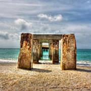 Boca Grande Ruins In Paradise Art Print
