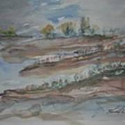Bodega Bay Sand Dunes Art Print