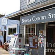 Bodega Country Store . Bodega Bay . Town Of Bodega . California . 7d12452 Art Print by Wingsdomain Art and Photography