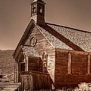Bodie State Historic Park California Church Art Print