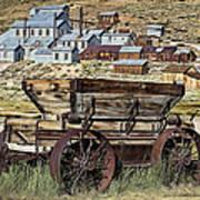 Bodie Wagon Art Print