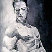 Body Building Art Print