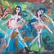 Bog Fairies Art Print