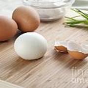 Boiled Eggs Art Print