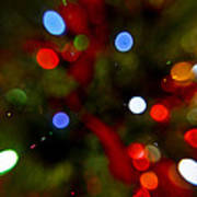 Bokeh Of Lights Art Print