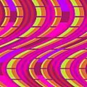 Bold Swirl  Art Print by Louisa Knight
