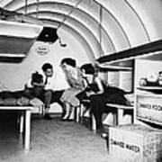Bomb Shelter, 1955 Art Print